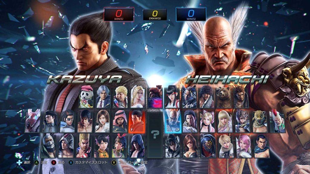 鉄拳7のゲーム画面
