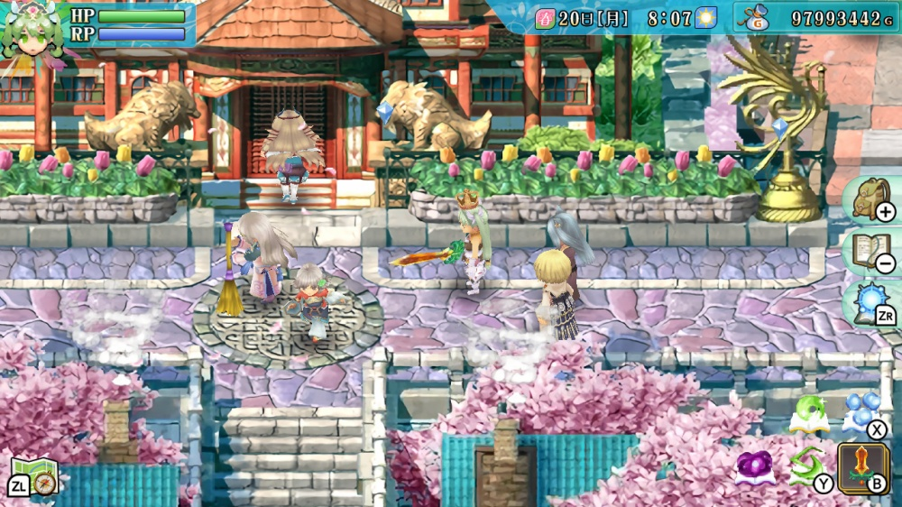 ルーンファクトリー4スペシャルのゲーム画面