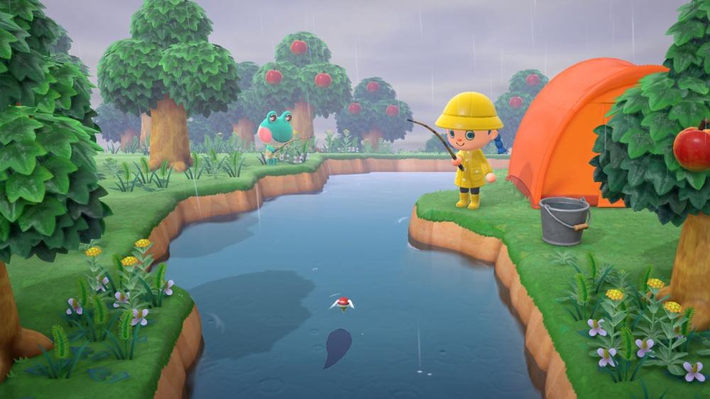 あつまれ どうぶつの森のゲーム画面