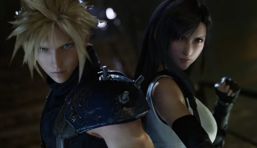 FINAL FANTASY VII REMAKEのゲーム画面