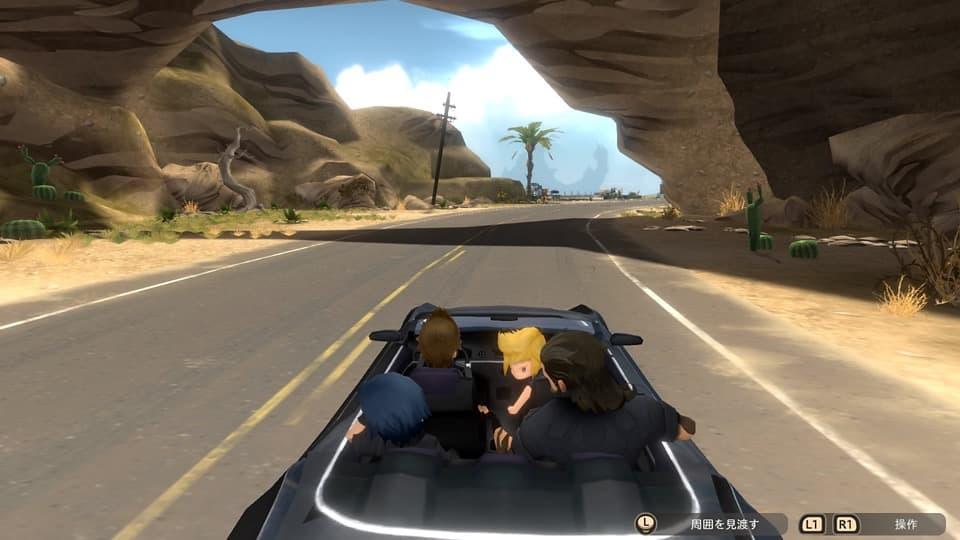 ファイナルファンタジーXV ポケットエディション HDのゲーム画面