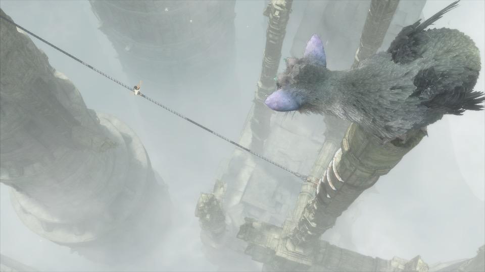 人喰いの大鷲トリコのゲーム画面