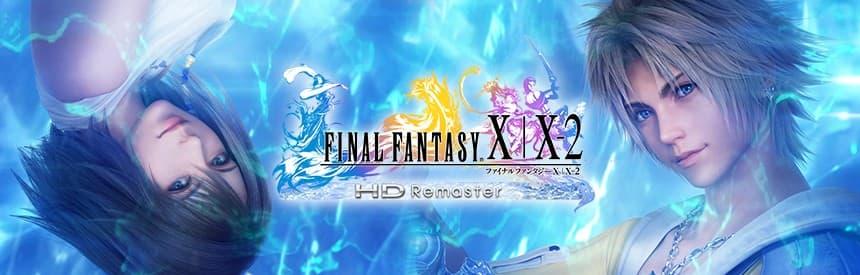 ファイナルファンタジー X/X-2 HD Remasterのタイトル画面