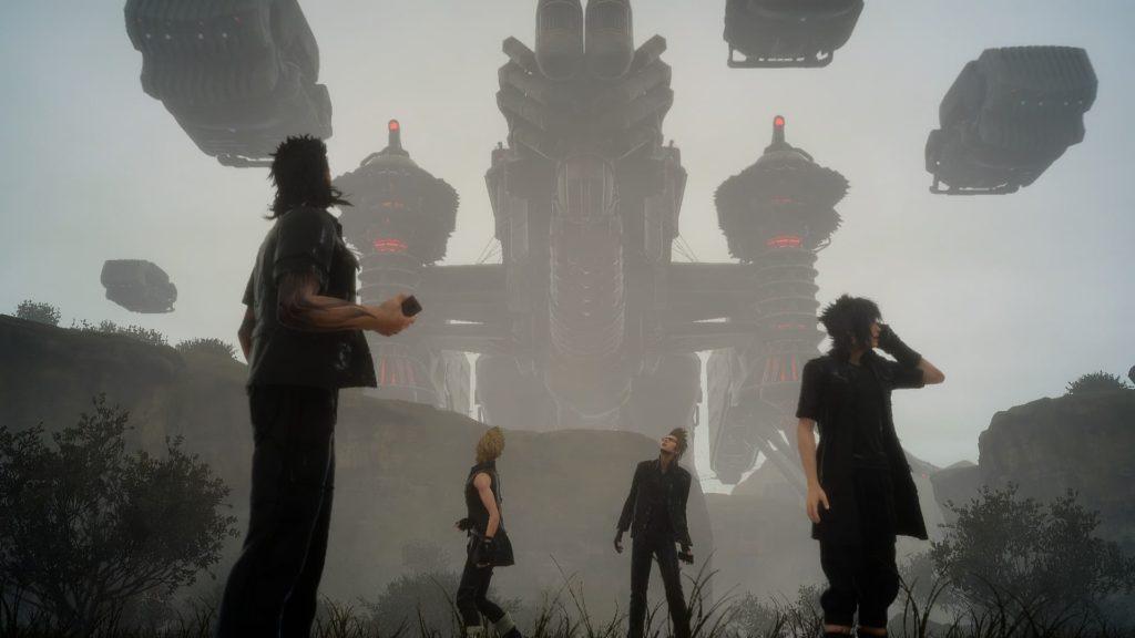 ファイナルファンタジーXV ロイヤルエディションのゲーム画面