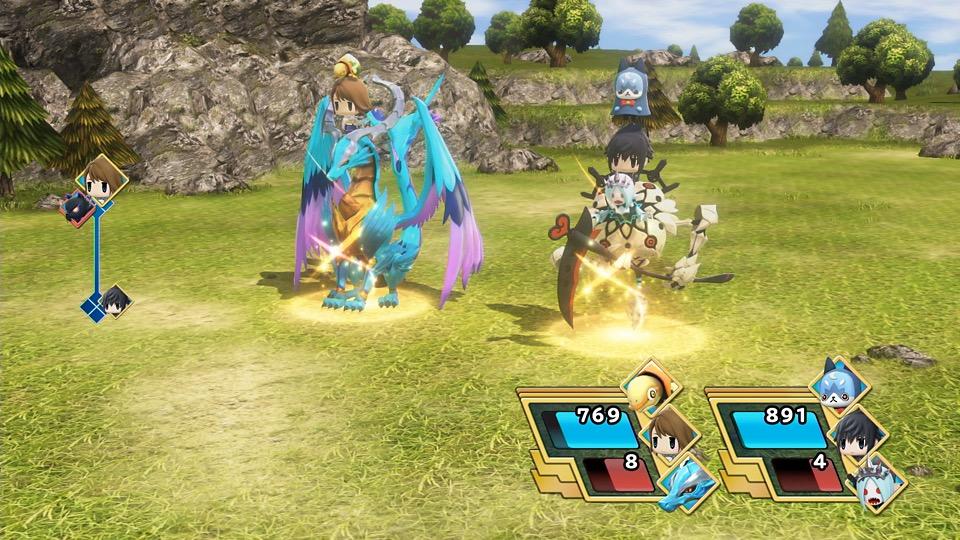 ワールド オブ ファイナルファンタジー マキシマのゲーム画面