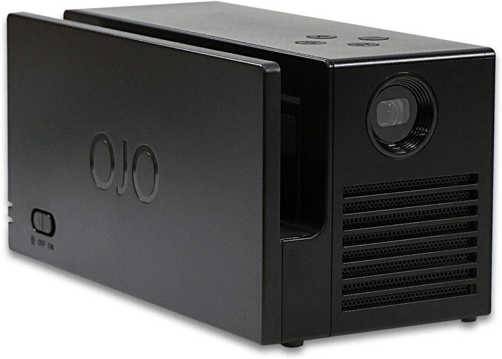 ニンテンドースイッチ用プロジェクター OJO Projector + 専用キャリーケース set