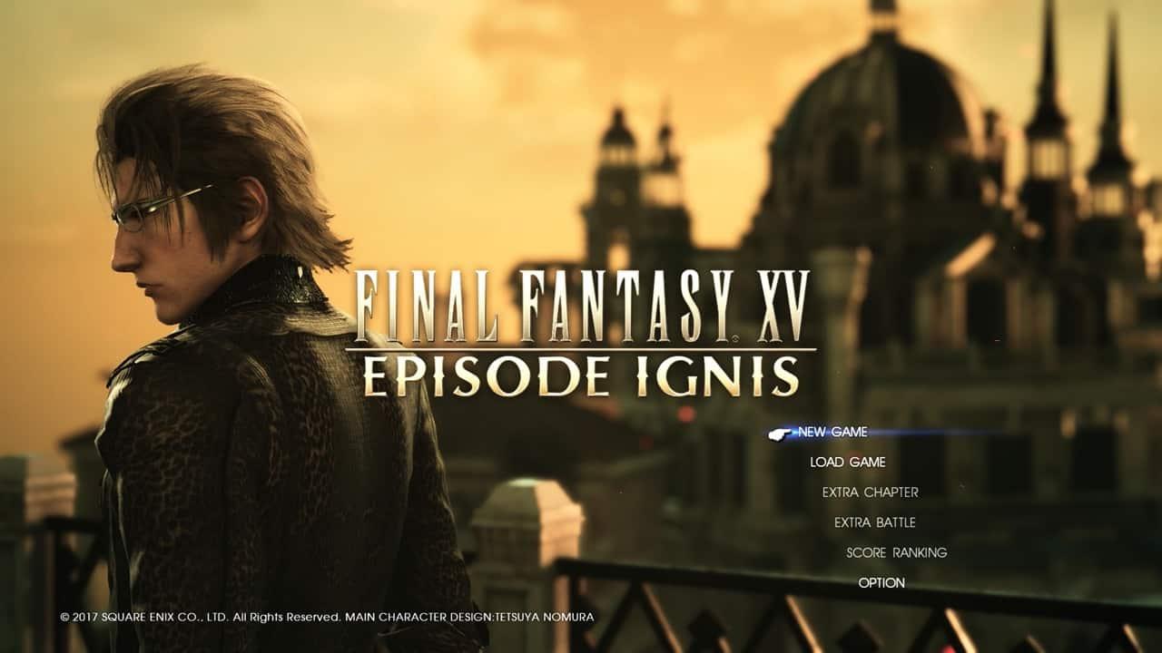 FF15 エピソード イグニス