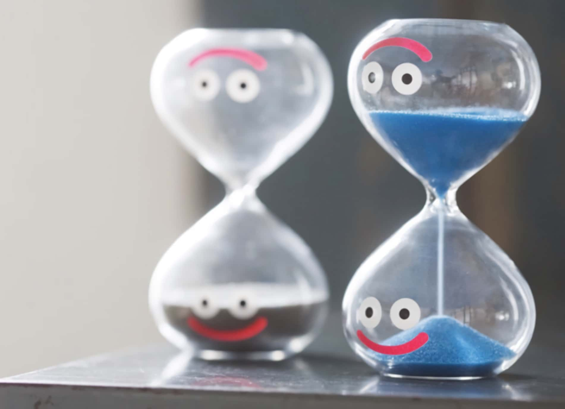 ドラクエグッズ:スライム砂時計